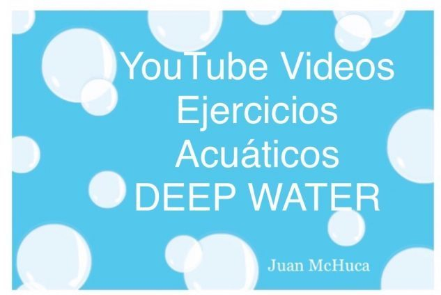 YouTube Videos Acuáticos de Ejercicios en Aguas Profundas