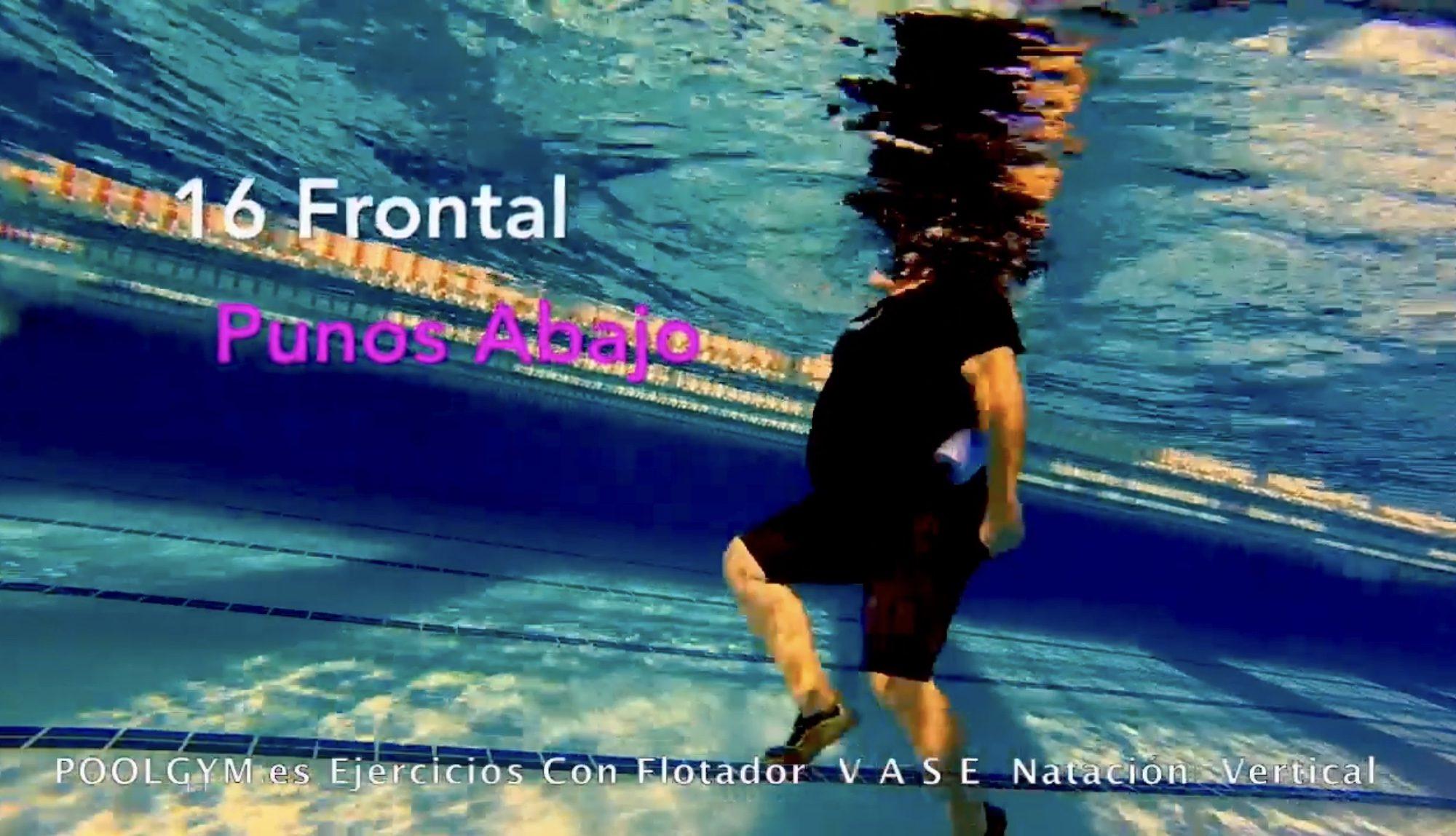 16 Frontal PUÑOS ABAJO poolgym.ES
