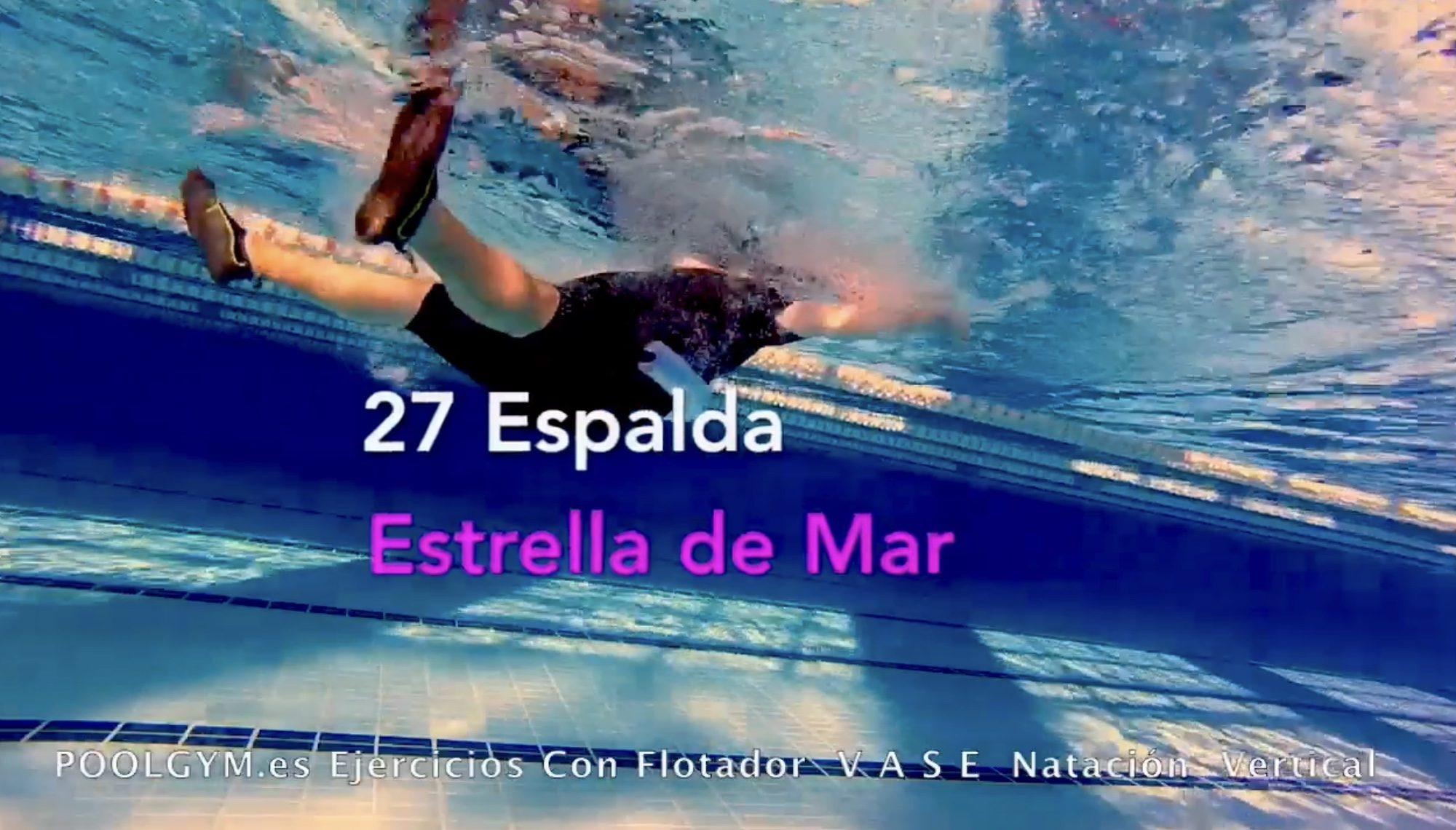 27 Espalda ESTRELLA DE MAR poolgym.ES
