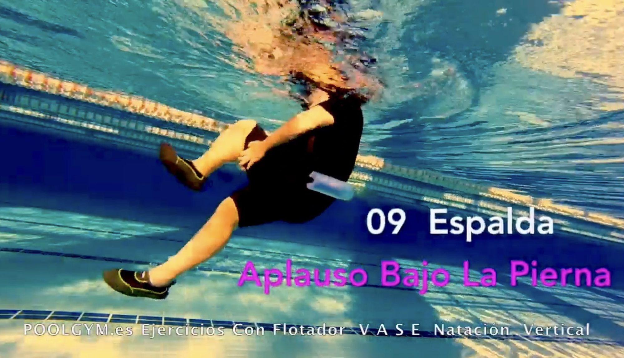 09 APLAUSO BAJO LA PIERNA Espada poolgym