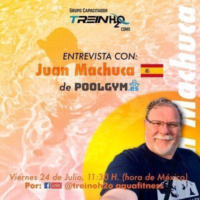 Entrevista En TreinH2O Juan MacHuca de PoolGym.es